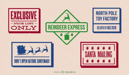 North Pole Postage Design Pack