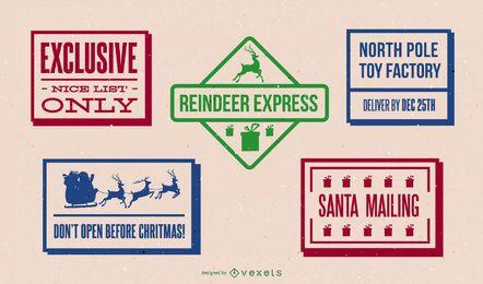 Pacote de design de postagem do Pólo Norte