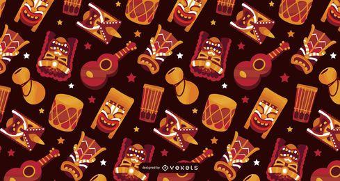 Design de padrão de elementos do Havaí