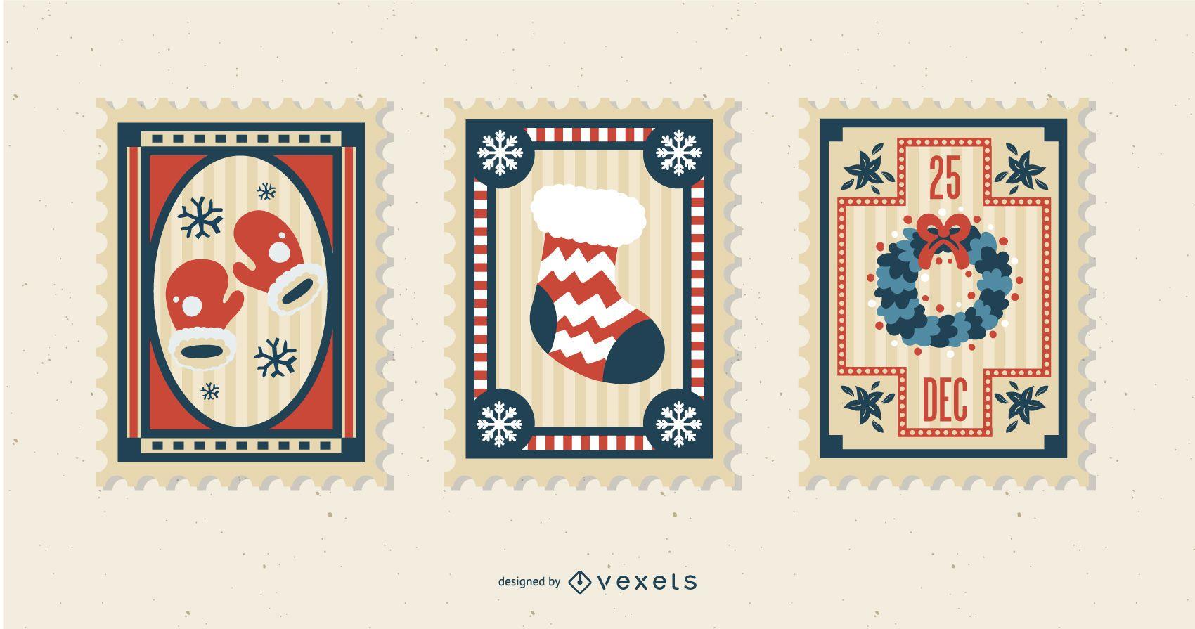 Weihnachtsbriefmarke