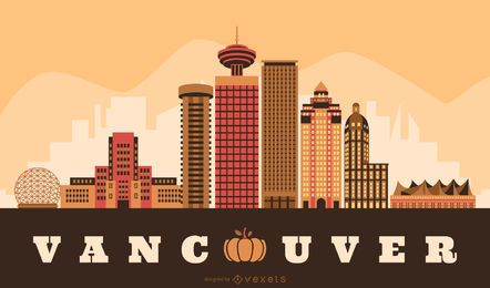 Vancouver Thanksgiving Skyline Design