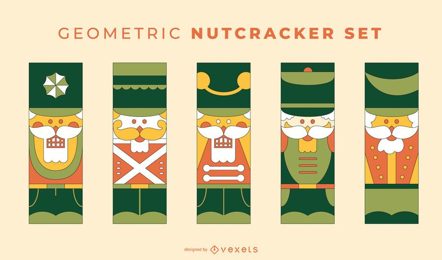 Geometric Nutcracker vector set