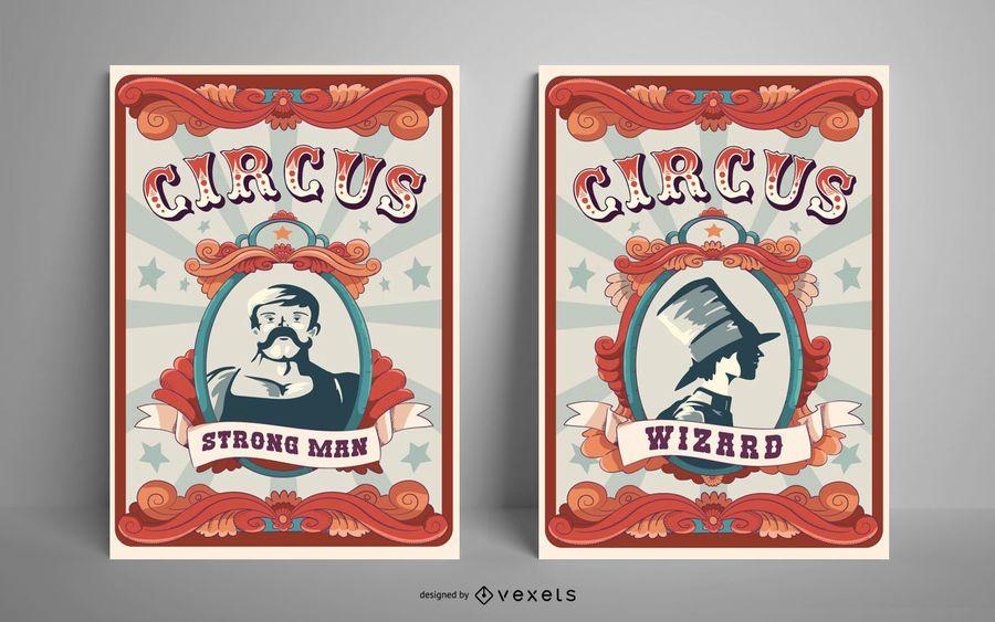Circus Poster Design Pack
