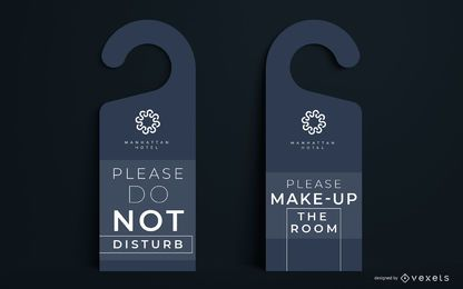Door Hanger Editable Design Set