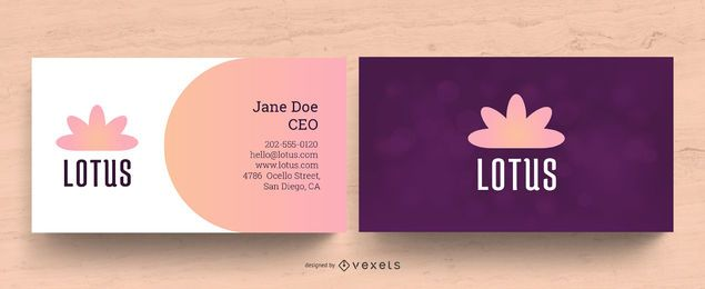 Wellness Business Card Design