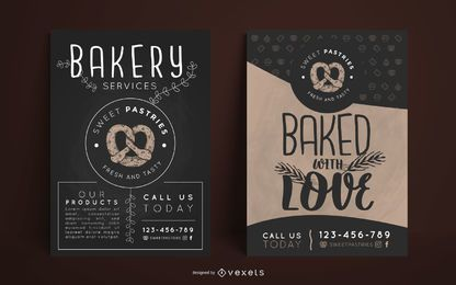 Bakery poster design