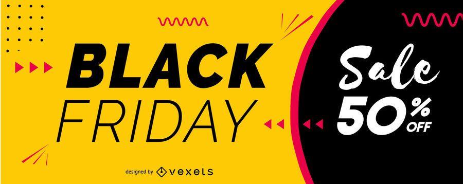 Schwarzer Freitag-Verkaufsschieberentwurf