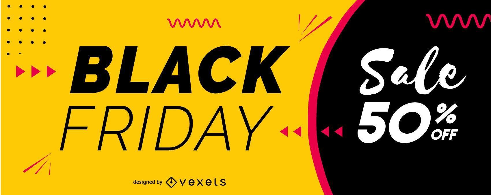 Black friday sale slider design