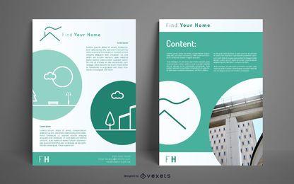 Encontre o design do seu cartaz em casa