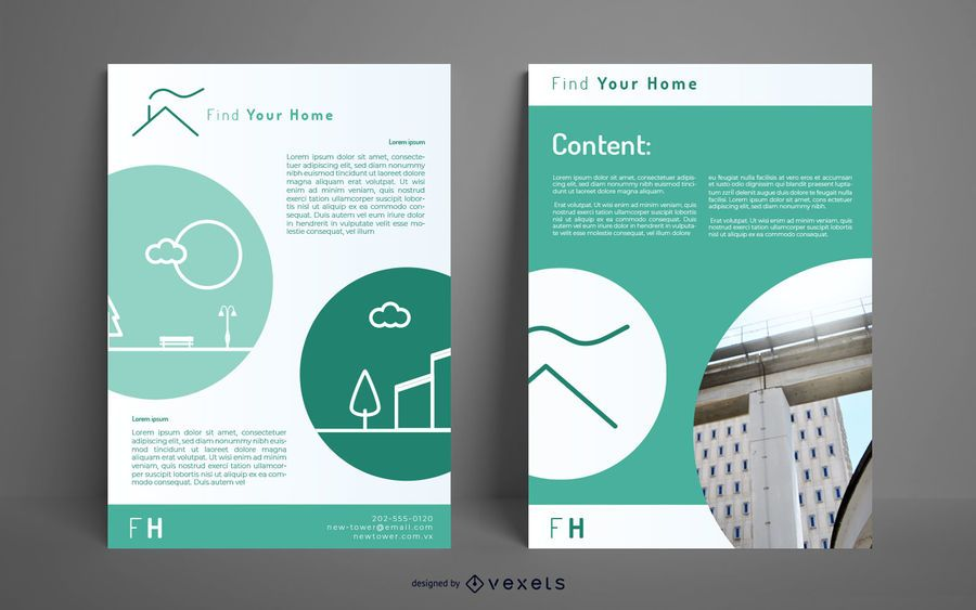 Find your home poster design