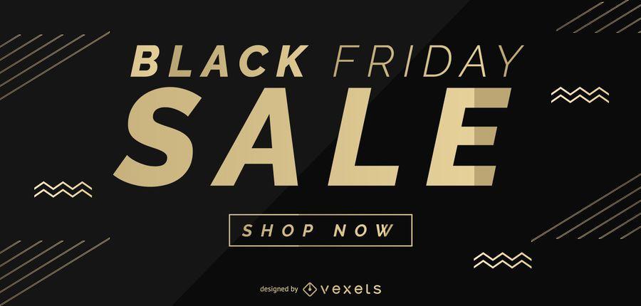 Design de slider da web Black Friday