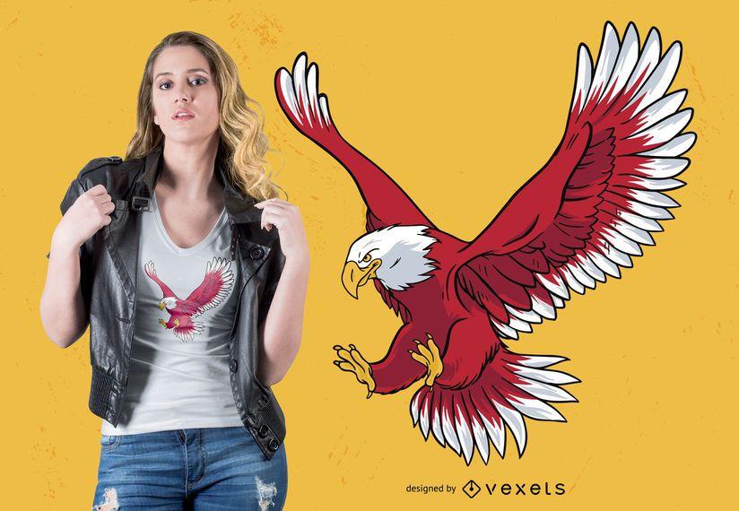 Bald Eagle T-shirt Design