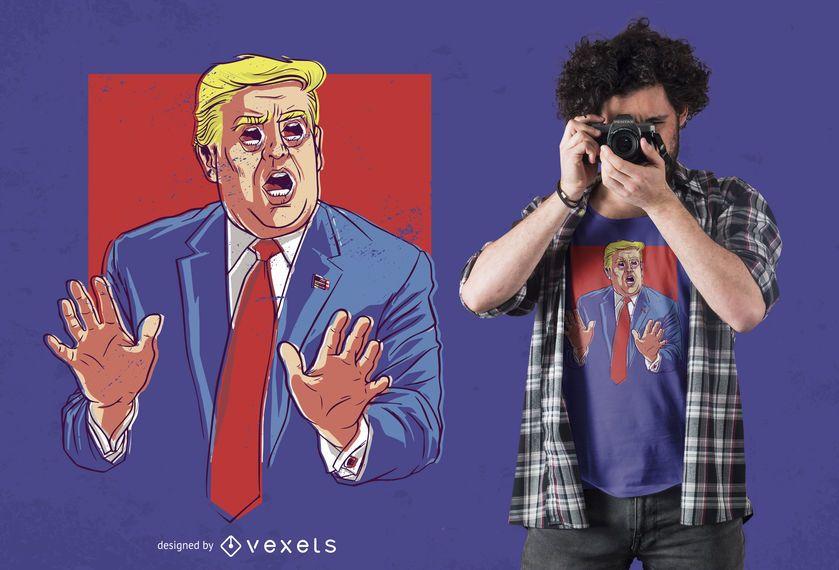 No quote trump t-shirt design