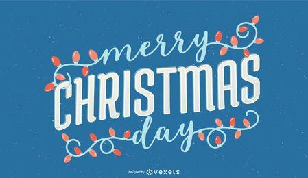 Letras feliz dia de natal