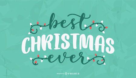 Melhor natal já letras