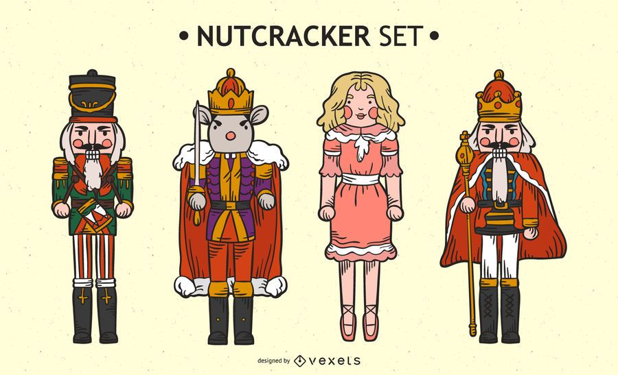Nutcracker character set