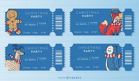 Weihnachtsfeier Ticket festgelegt