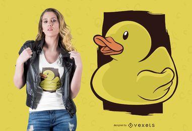 Design de camiseta Rubber Duck