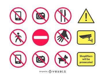 18 sinais de aviso