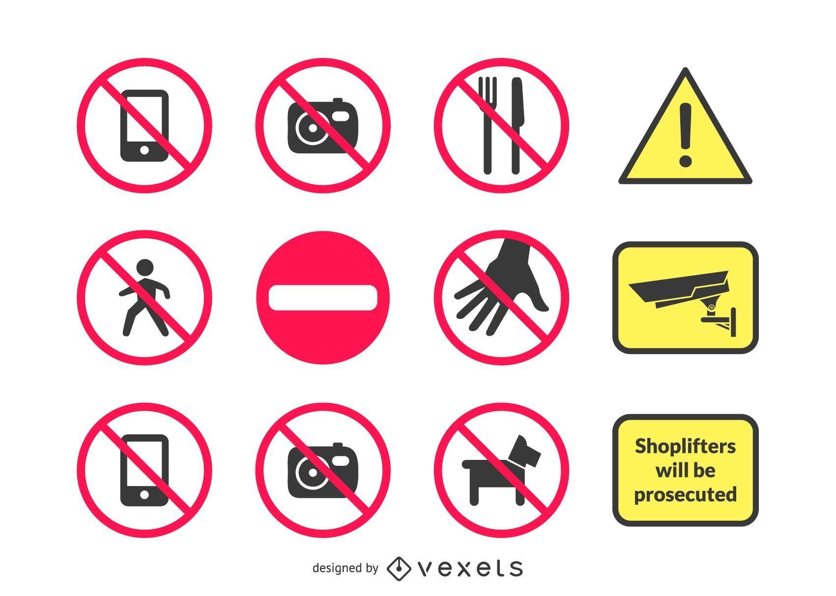 18 señales de advertencia