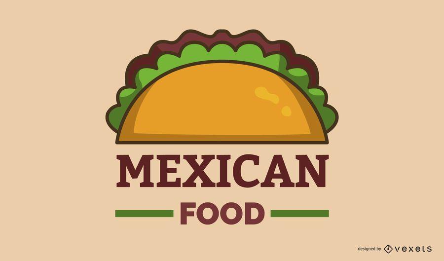Mexican Food Logo Banner Design