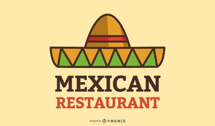 Design de logotipo de negócios de comida mexicana