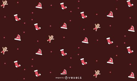 Simple christmas pattern design
