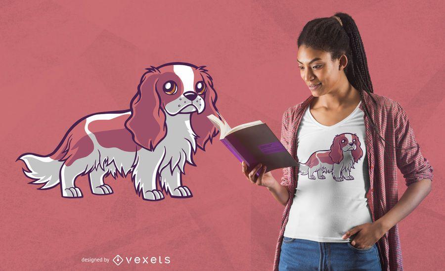 Cute dog ragnar t-shirt design