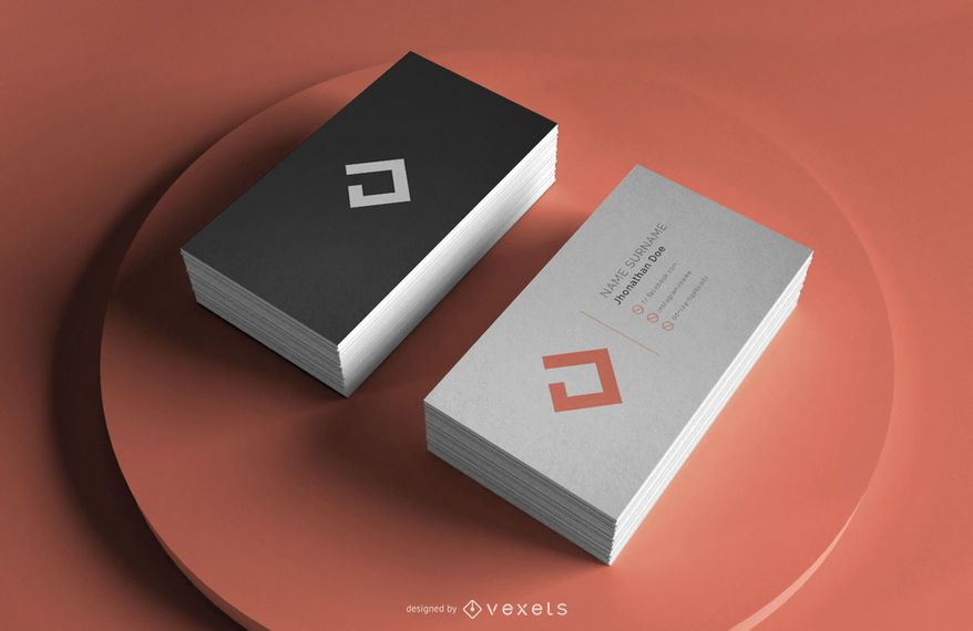 Business Card Professional Mockup