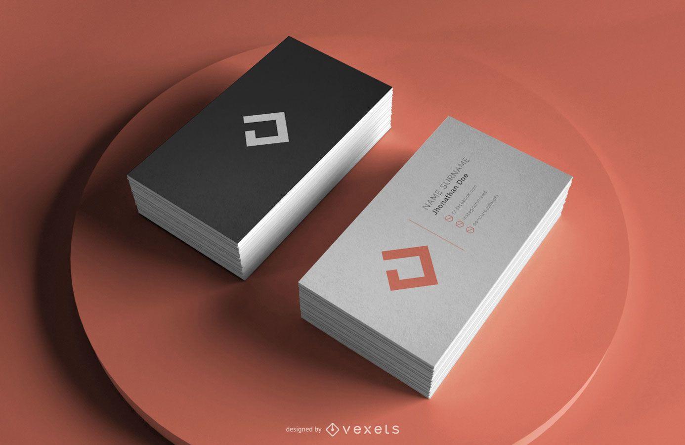 Business Card Professional Mockup