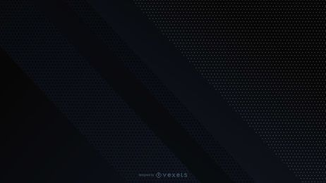 Desenho geométrico abstrato de fundo preto