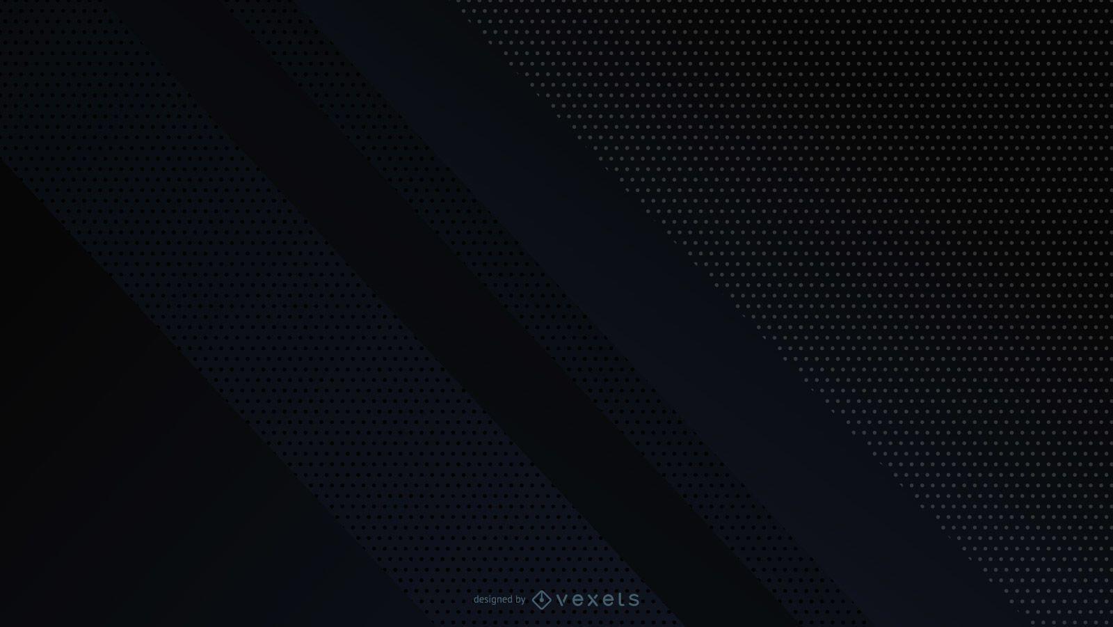 Diseño geométrico abstracto fondo negro