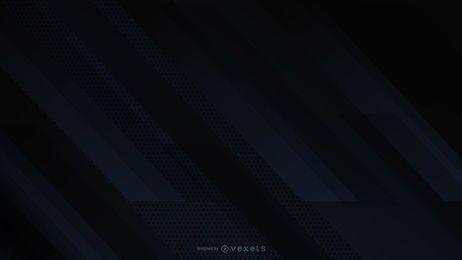 Fundo preto diagonal desenho abstrato