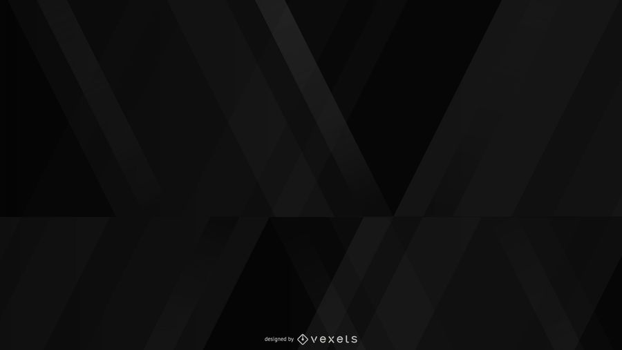Geometric black background design