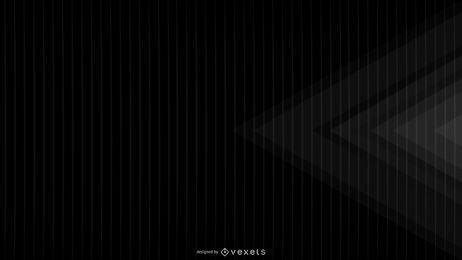 Geometrisches Design des schwarzen Hintergrundes