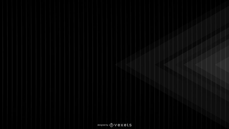 Black background geometric design