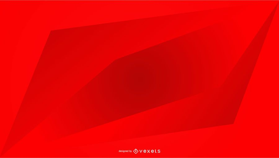 Red background geometric gradient design