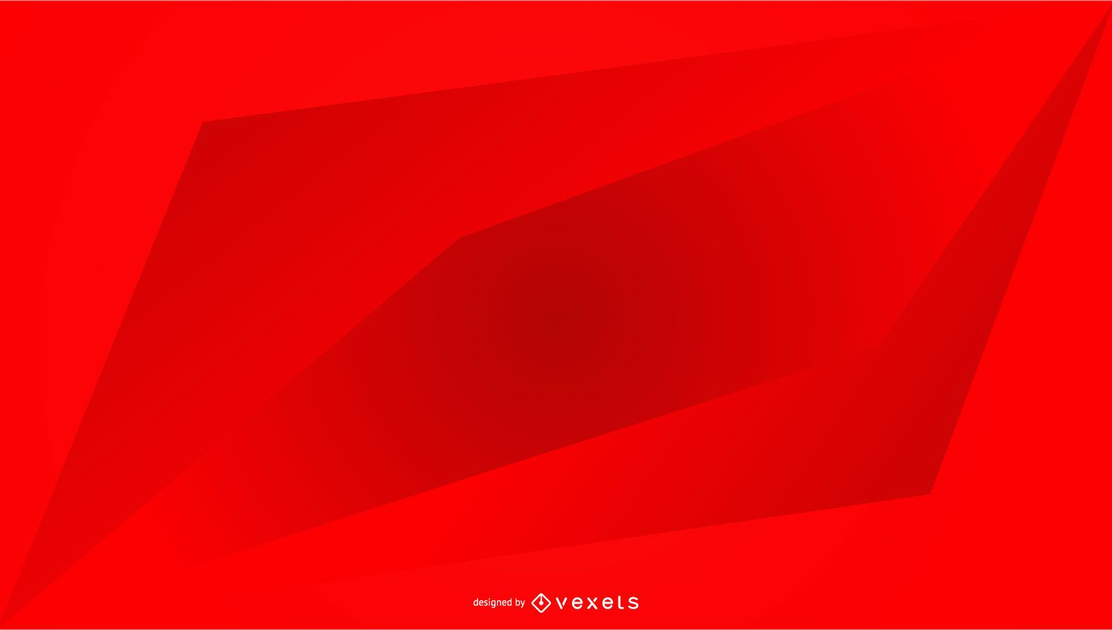 Dise?o geom?trico degradado de fondo rojo