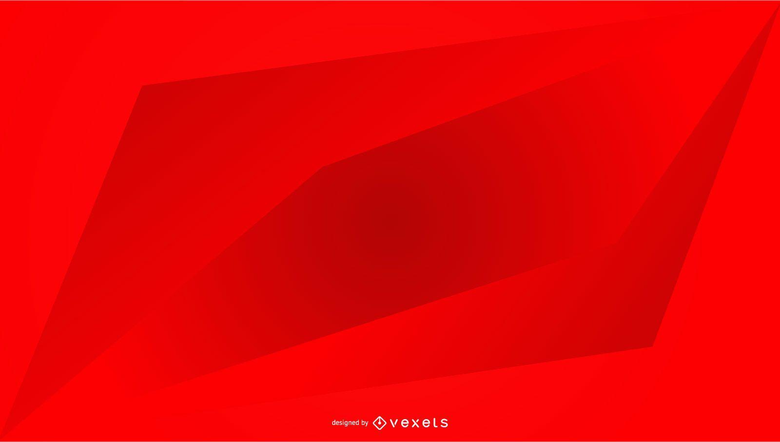 Red background geometric gradient design