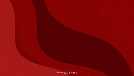 Formas abstratas de fundo vermelho