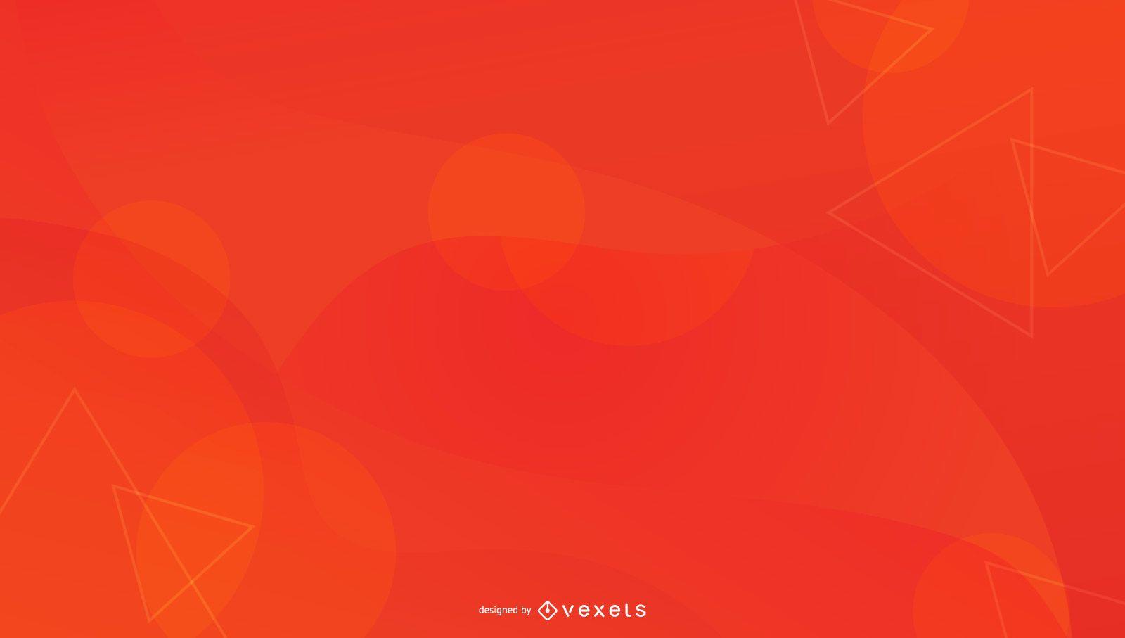 Fondo abstracto naranja rojo
