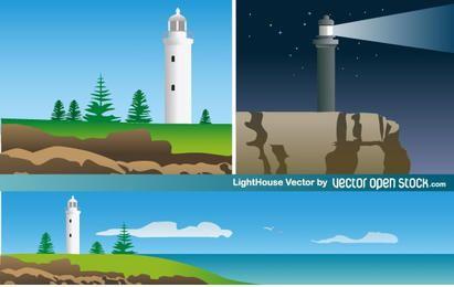 Ilustración de la casa de la luz