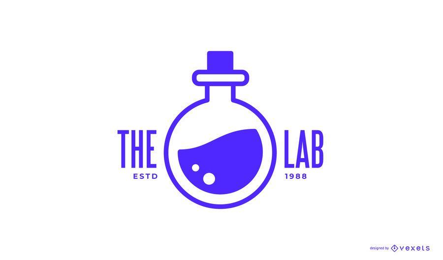 Logo-Design des Chemielabors