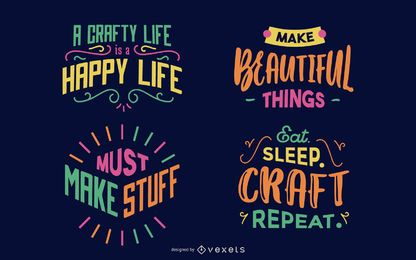 Craft lettering pack