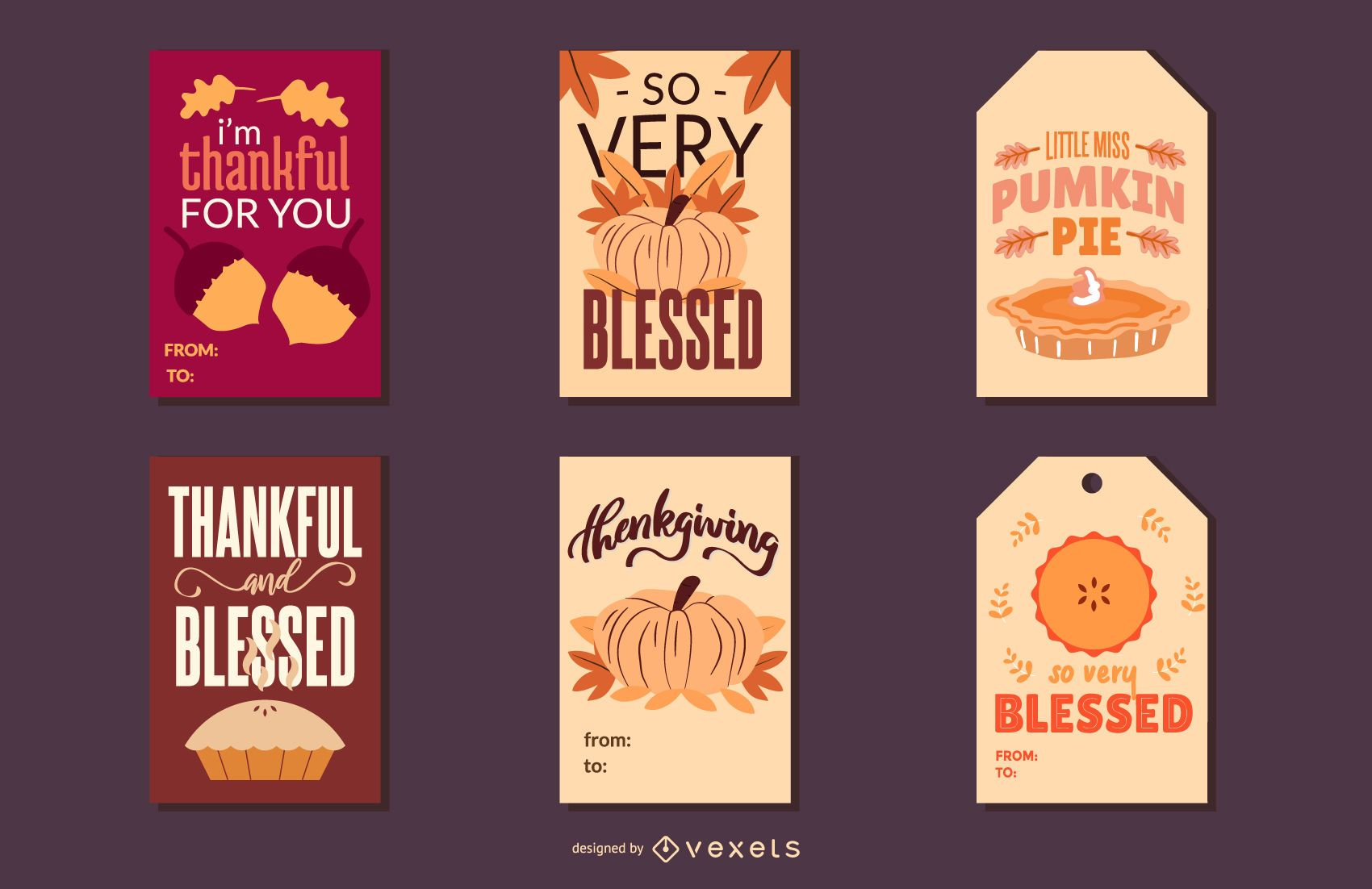 Thanksgiving cards pack