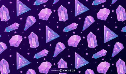 Kristallmuster Design