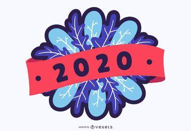 2020 Neujahrsabzeichen