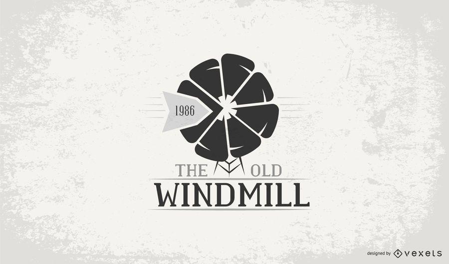 Windmill logo tamplate