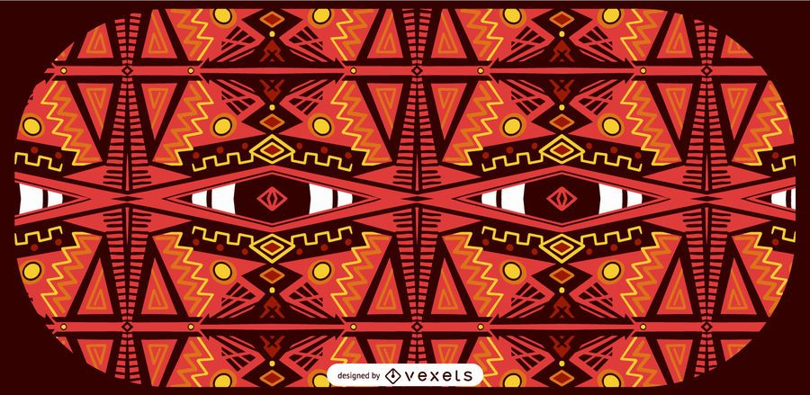 African Style Pattern Design
