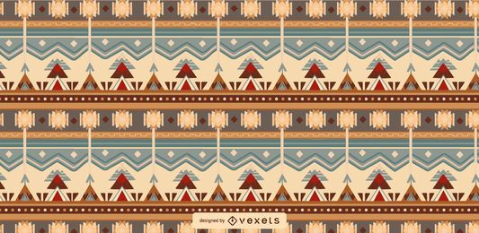 Aztec Tileable Pattern Design